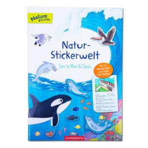 Natur-Stickerwelt: Tiere in Meer und Ozean im Pareyshop