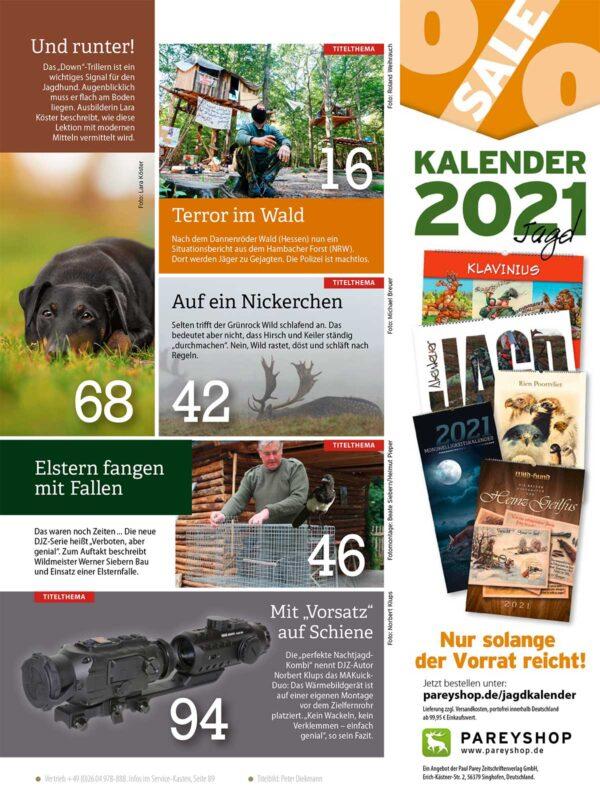 Deutsche Jagdzeitung 2021/03 im Pareyshop