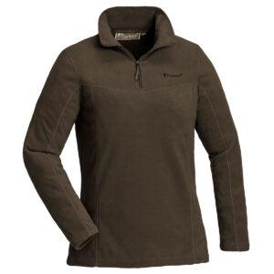 Pinewood Damen Fleece Sweater Tiveden Braun im Pareyshop