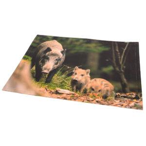 Tischset Wildschwein-Motiv im Pareyshop
