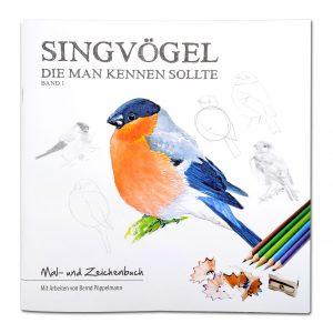Singvögel die man kennen sollte - Band 1 (Mal- und Zeichenbuch) im Pareyshop