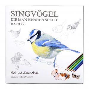Singvögel die man kennen sollte - Band 2 (Mal- und Zeichenbuch) im Pareyshop
