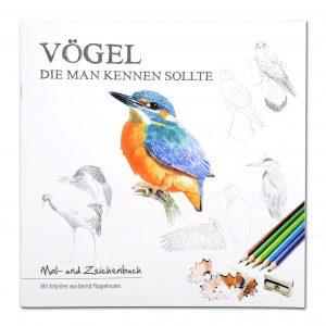 Vögel die man kennen sollte (Mal- und Zeichenbuch) im Pareyshop