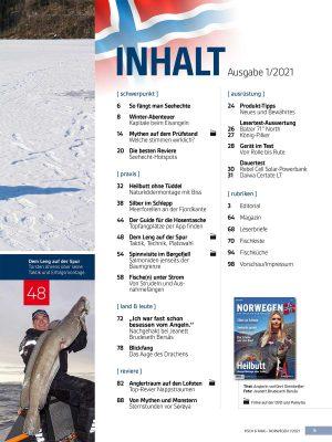 Norwegen-Magazin 1/21 + DVD im Pareyshop