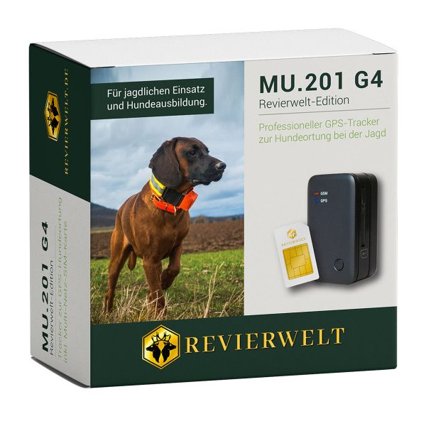 GPS Tracker MU.201G4 Revierwelt-Edition Plus im Pareyshop