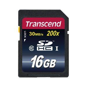 Transcend Speicherkarte SDHC 16GB Class 10 im Pareyshop