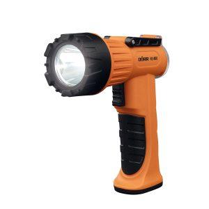 DÖRR LED Handscheinwerfer HS-800 orange im Pareyshop