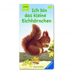 Ich bin das kleine Eichhörnchen im Pareyshop