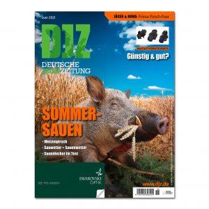 Deutsche Jagdzeitung 2021/06 im Pareyshop