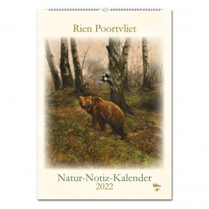 Rien Poortvliet Natur-Notiz-Kalender 2022 im Pareyshop