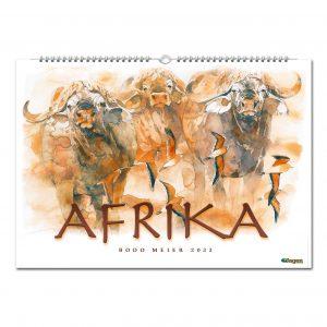 JAGEN WELTWEIT EDITION: Bodo Meier Afrika Kalender 2022 im Pareyshop