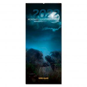 WILD UND HUND Edition: Mondhelligkeitskalender 2022 im Pareyshop