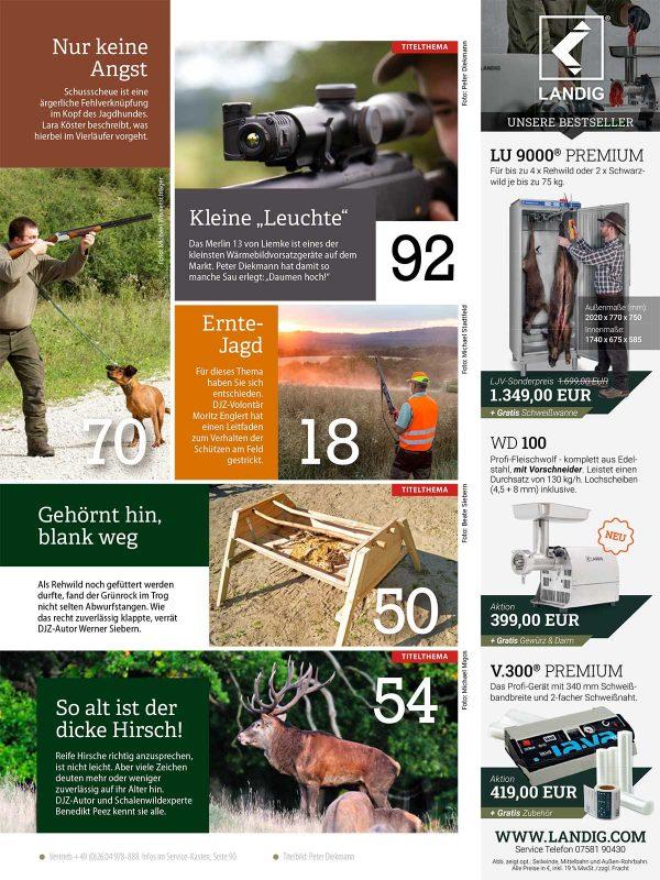 Deutsche Jagdzeitung 2021/08 im Pareyshop