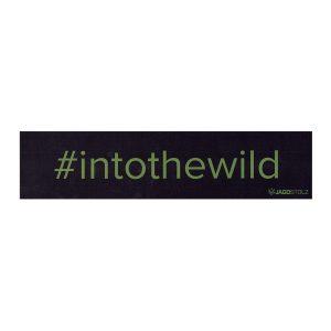 Jagdstolz Bumper Sticker #intothewild Oliv im Pareyshop