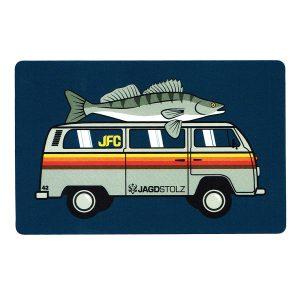 Jagdstolz Fishing Club Sticker Bully im Pareyshop
