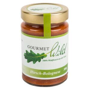 GOURMET WILD - Hirsch-Bolognese im Pareyshop