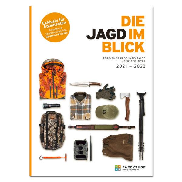 "Produktkatalog ""Die Jagd im Blick"" 2021/2022 im Pareyshop"
