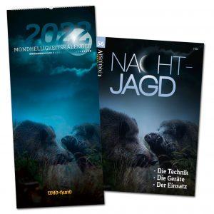 Set: WILD UND HUND Edition: Mondhelligkeitskalender 2022 + WILD UND HUND Exklusiv Nr. 56: Nachtjagd im Pareyshop