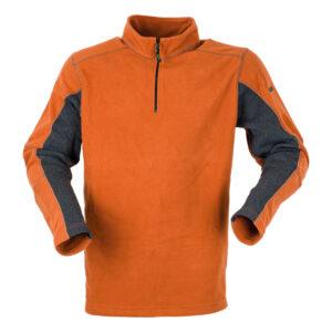 Ridgeline Herren-Fleeceshirt Norwegian Fleece Orange im Pareyshop
