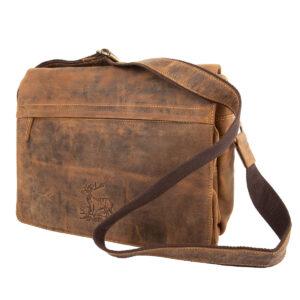 Greenburry Vintage Hunting Leder Umhängetasche im Pareyshop