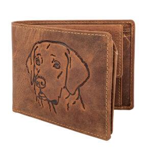 Greenburry Vintage Original Leder Geldbörse Hund im Pareyshop