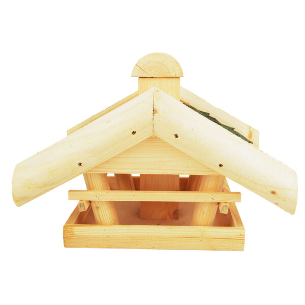 Dobar Großes Vogelhaus mit Futtersilo im Pareyshop
