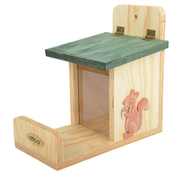 Dobar Eichhörnchen-Futterstation aus Kiefer im Pareyshop