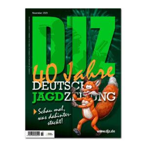 Deutsche Jagdzeitung 2021/11 im Pareyshop
