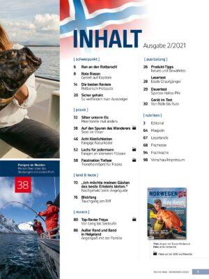 Norwegen-Magazin 2/21 + DVD im Pareyshop