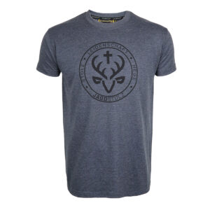 Jagdstolz T-Shirt Grau Siegel Black im Pareyshop