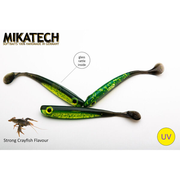 MIKATECH Real Shad Gummifisch 12